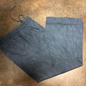 Ann Taylor Loft Linen Like Pants